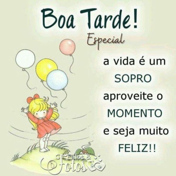 alegre boa tarde especial de menininha e balões