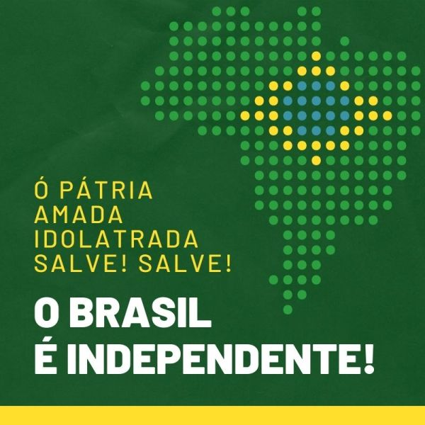 Salve minha pátria amada Brasil