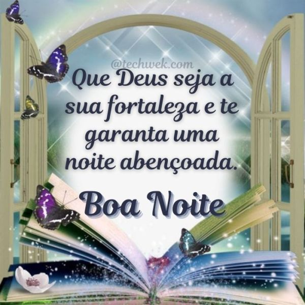 Lindas Mensagens de Boa noite Abençoada por Deus