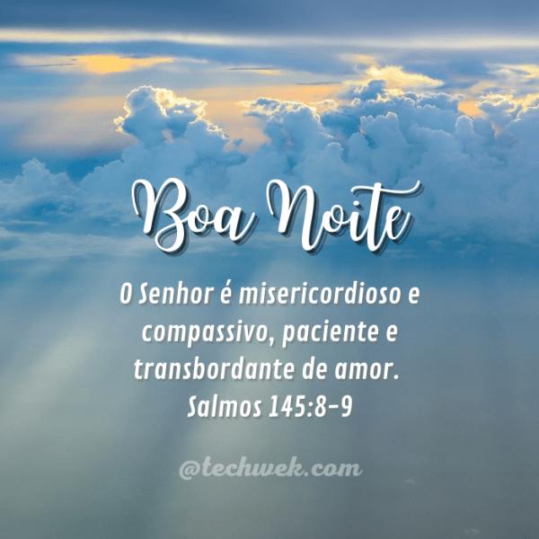 imagens com salmo para noite