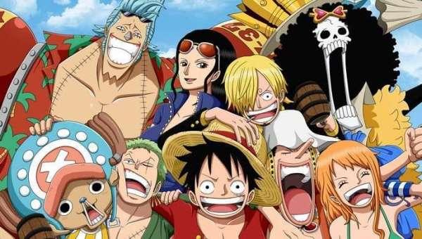 Personagens do anime japonês One Piece