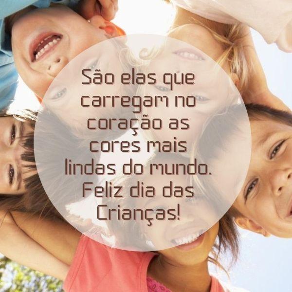 feliz dia das crianças do mundo