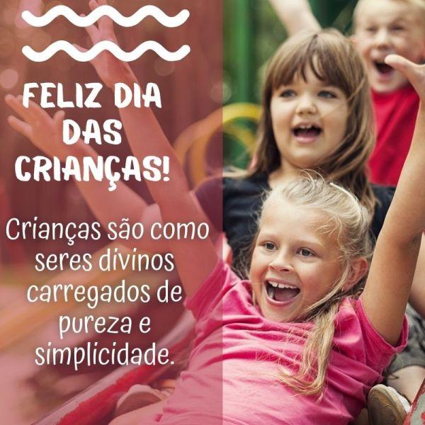feliz dia das crianças alegre