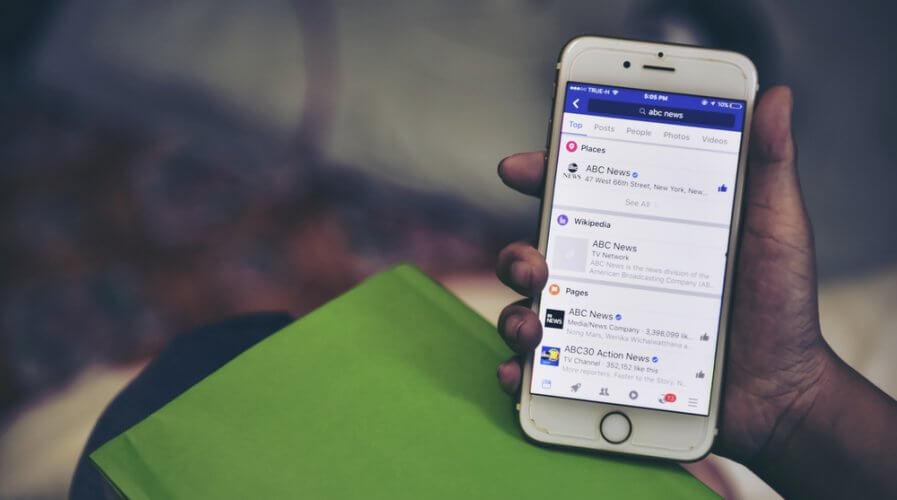 facebook s split news