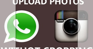 Upload photos to instagram without cropping