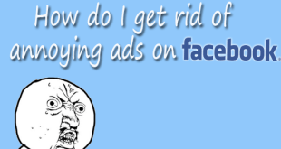 How do i get rid of annoying ads on facebook