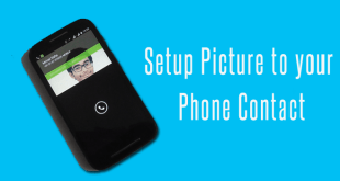 Setup Picture to your Phone Contact