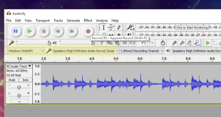 Record Audio Coming Out of Your PC with audacity