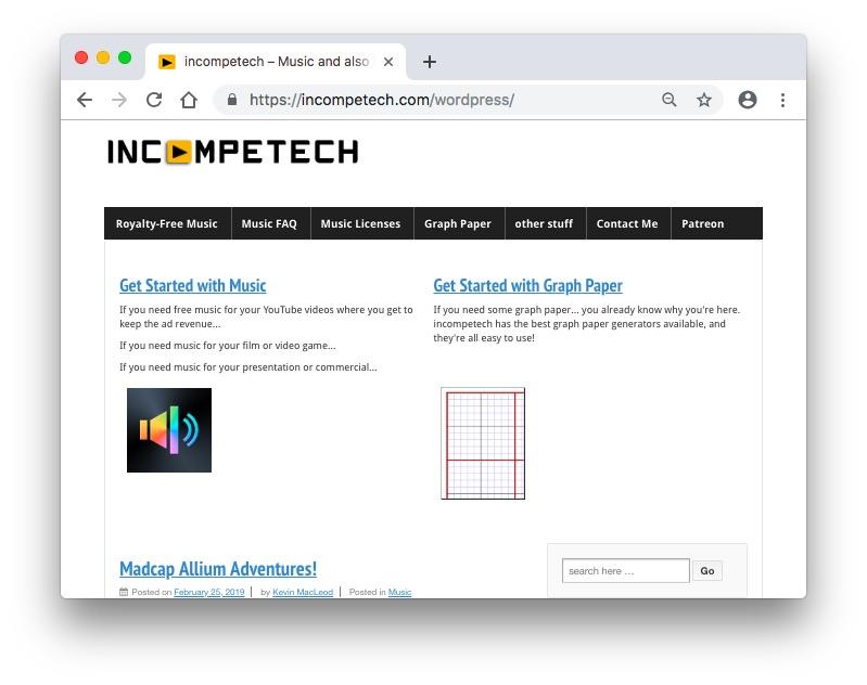 IncompeTech screenshot