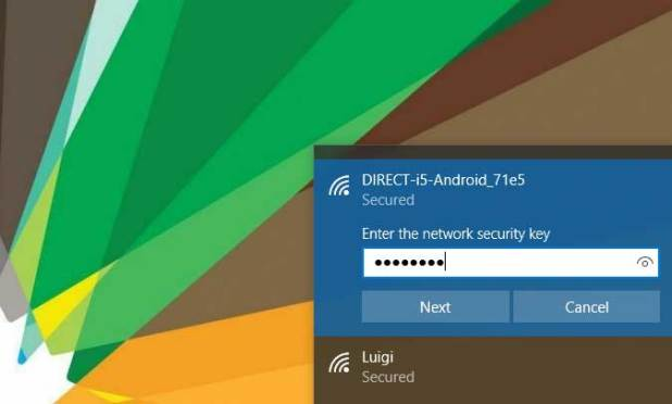 How to connect mobile internet to pc via wifi