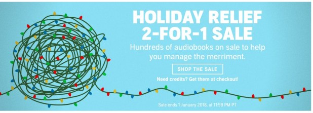 Audible speicial deals 2
