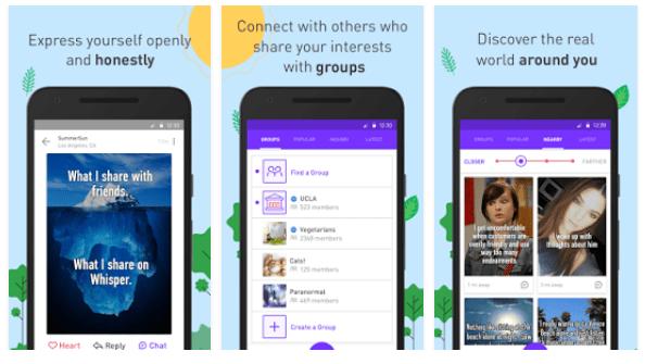 Dark chatroom app