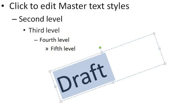 draft in pp