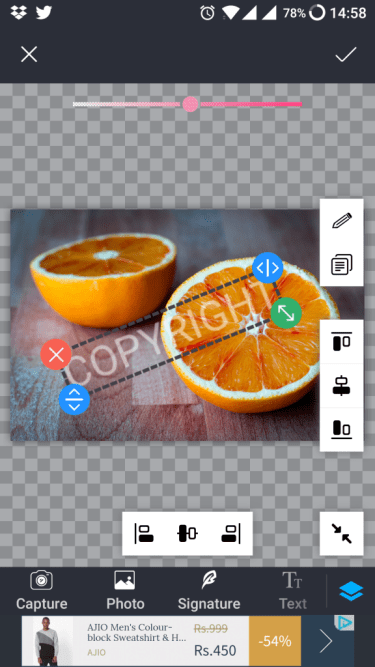 photo watermark effects