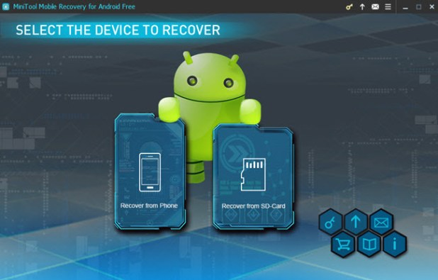 android data recovery tool - minitool