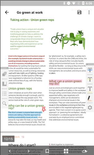 android pdf editor - PDF Reader