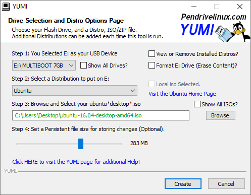 windows bootable usb tool - yumi
