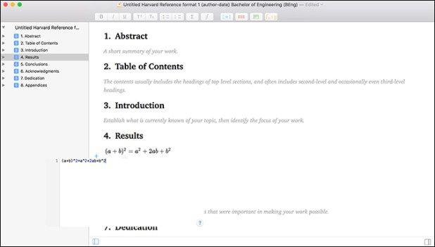 Manuscripts Mac OS