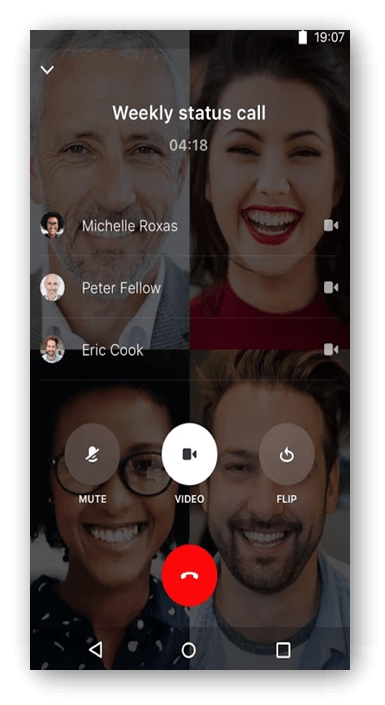 Make Video Calls From Android to iOS 7