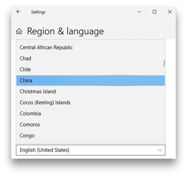how to unlock windows with mi band- change region