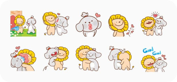 best stickers for whatsapp- Falala