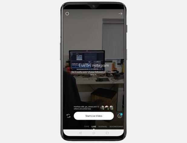 best live streaming apps- Instagram Live stories