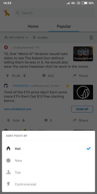 Reddit Apps for Android and iOS 1