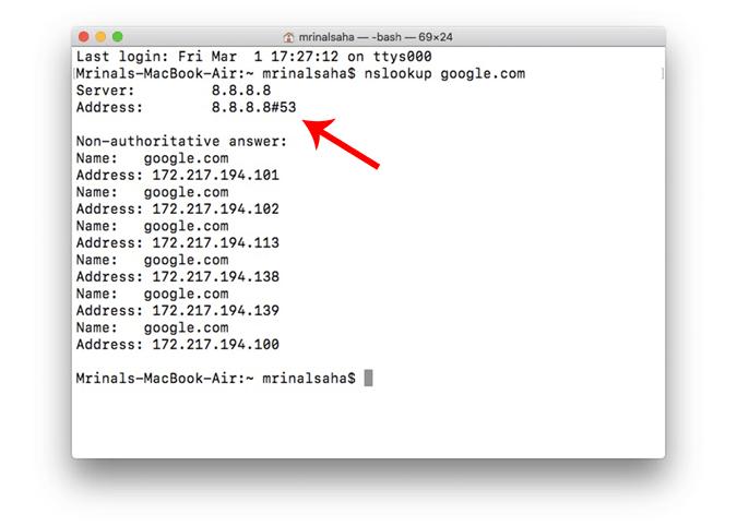 Google dsn for mac