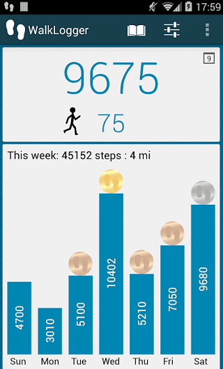 Step Counter or Pedometer Apps for Android 6