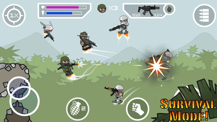 mini militia multiplayer game