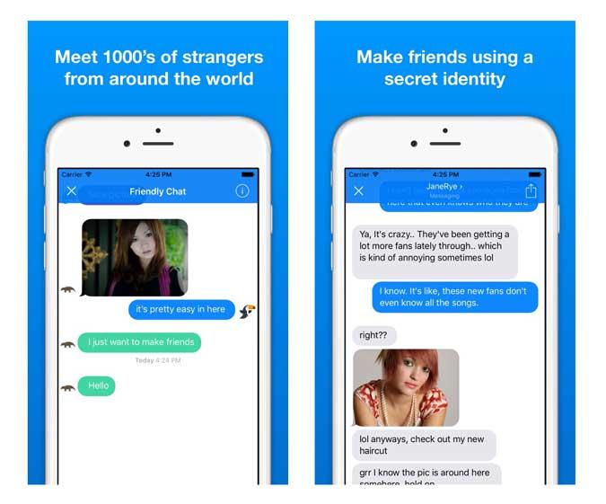 chatoften app screenshot