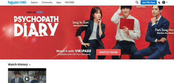 Viki Asian Shows and Movies