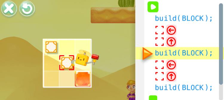 SpriteBox coding puzzles