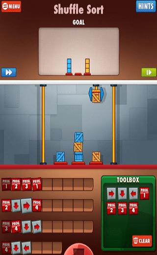cargo bot coding game