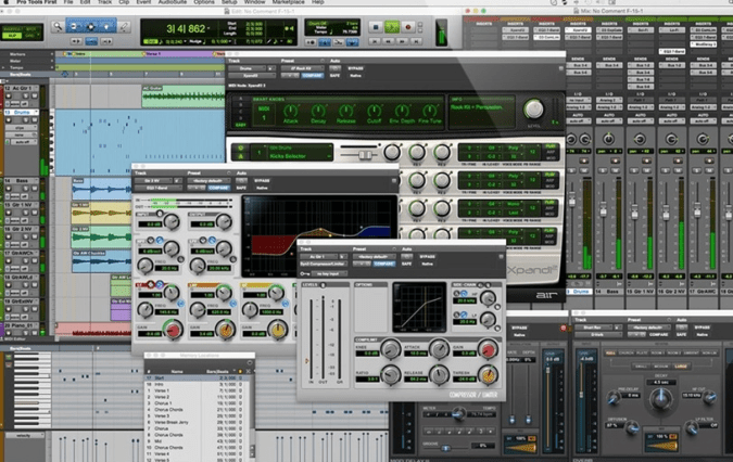 Pro Toold First Free DAW