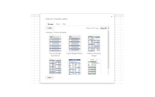 google sheets and docs template