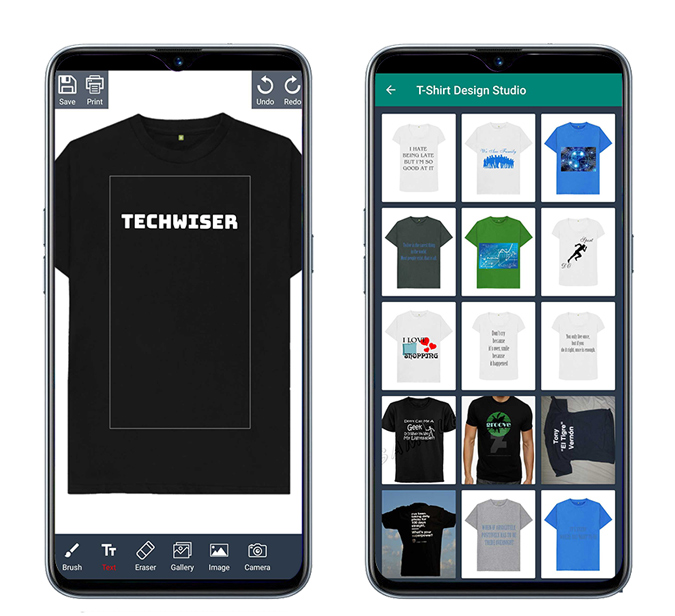 T-shirt Design and Print