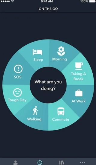 simple habit circular UI