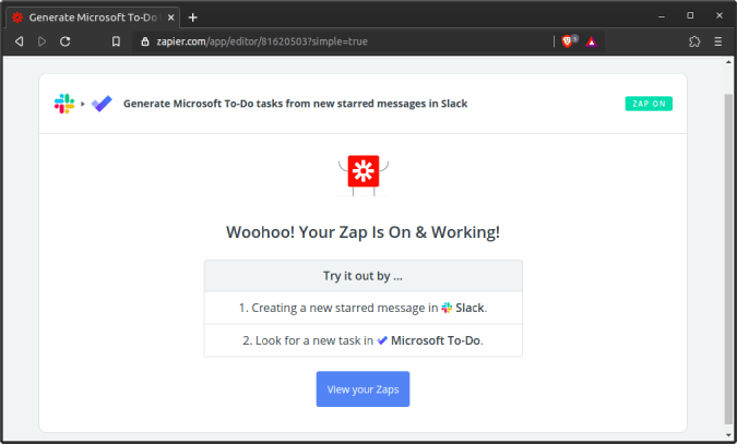 connect-zapier-with-slack-and-to-do