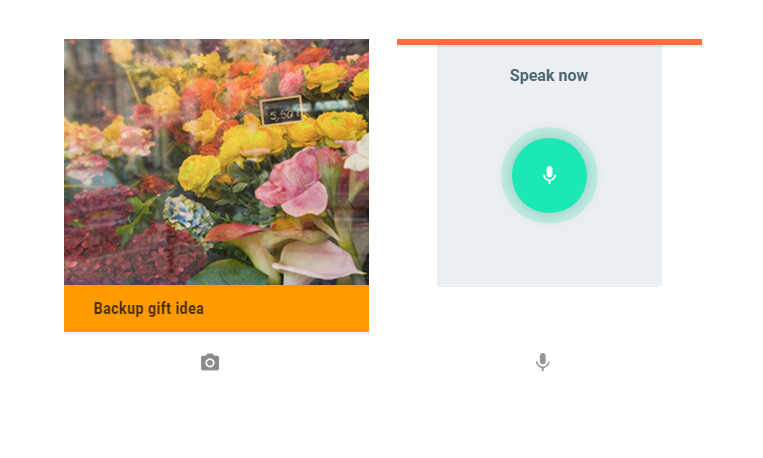 google keep audio notes