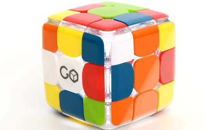 A picture of Go Cube on the table