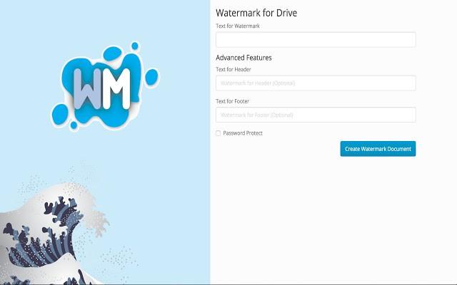 google docs watermark addon