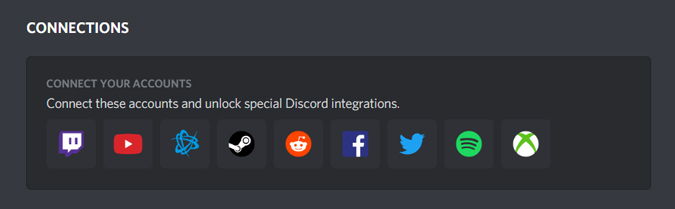 Image showing all the integration servers on Discord