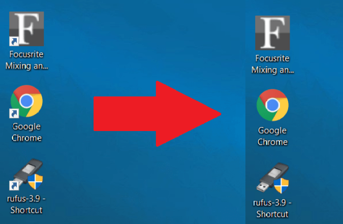 How to Remove shortcut arrow overlay in Windows