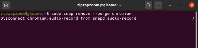 snap_remove_snapshot - uninstall applications ubuntu