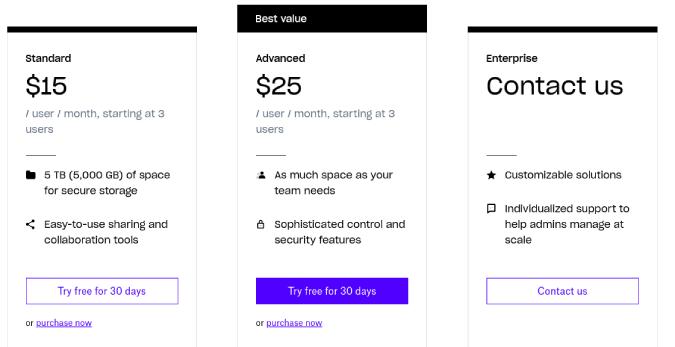 dropbox-pricing