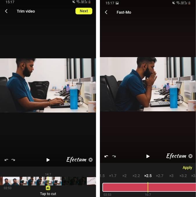 efectum-vlog-video-editor