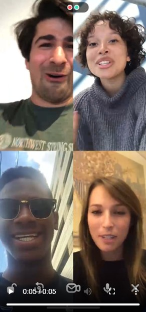 video and gaming in houseparty
