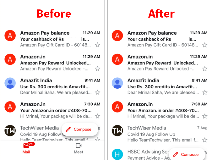 before-after-removing-google-meet