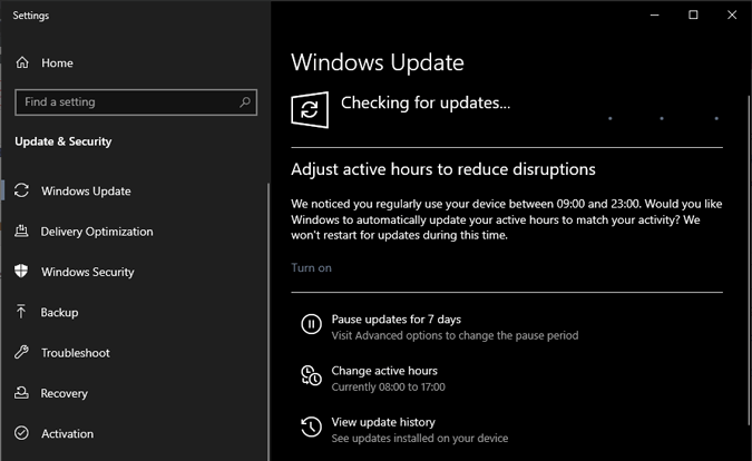 windows-10-checking-for-updates